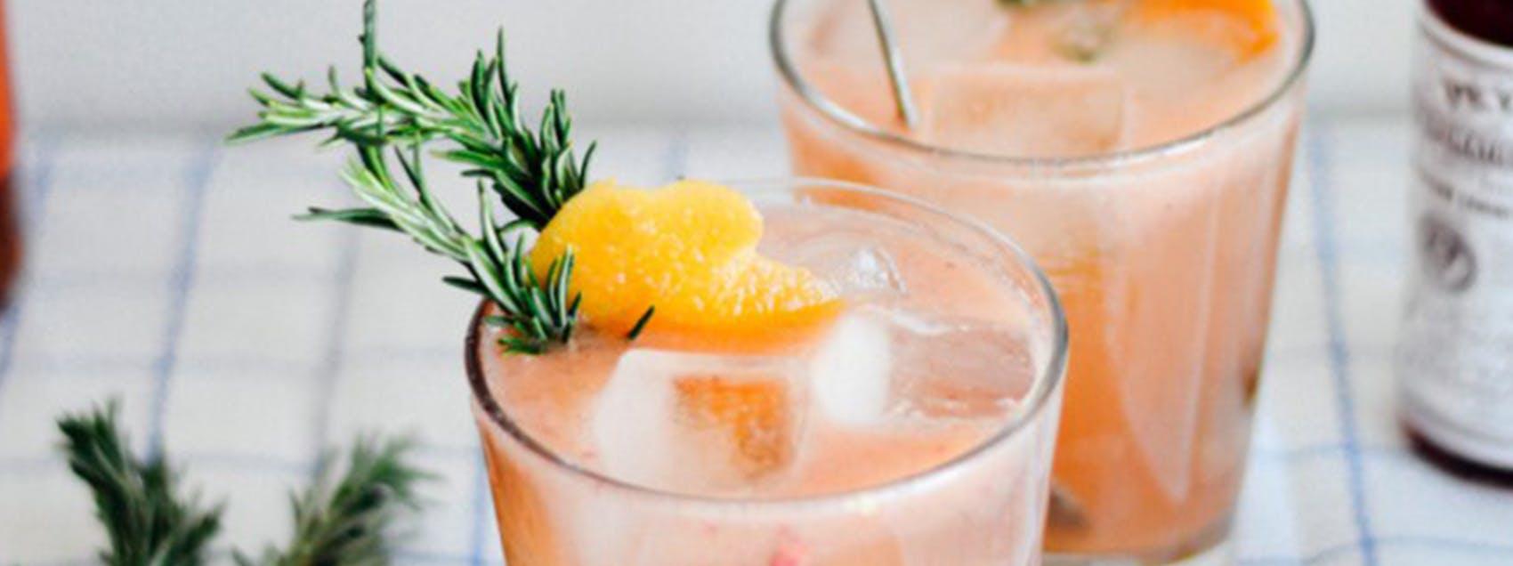 Grapefruit Bourbon Cocktail