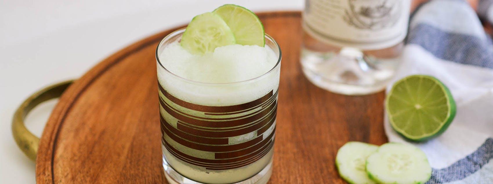 Frozen Cucumber Gin & Tonic