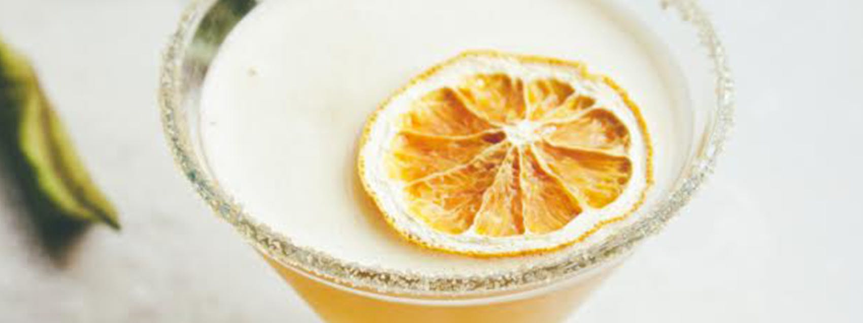 Blood Orange Armagnac Sidecar