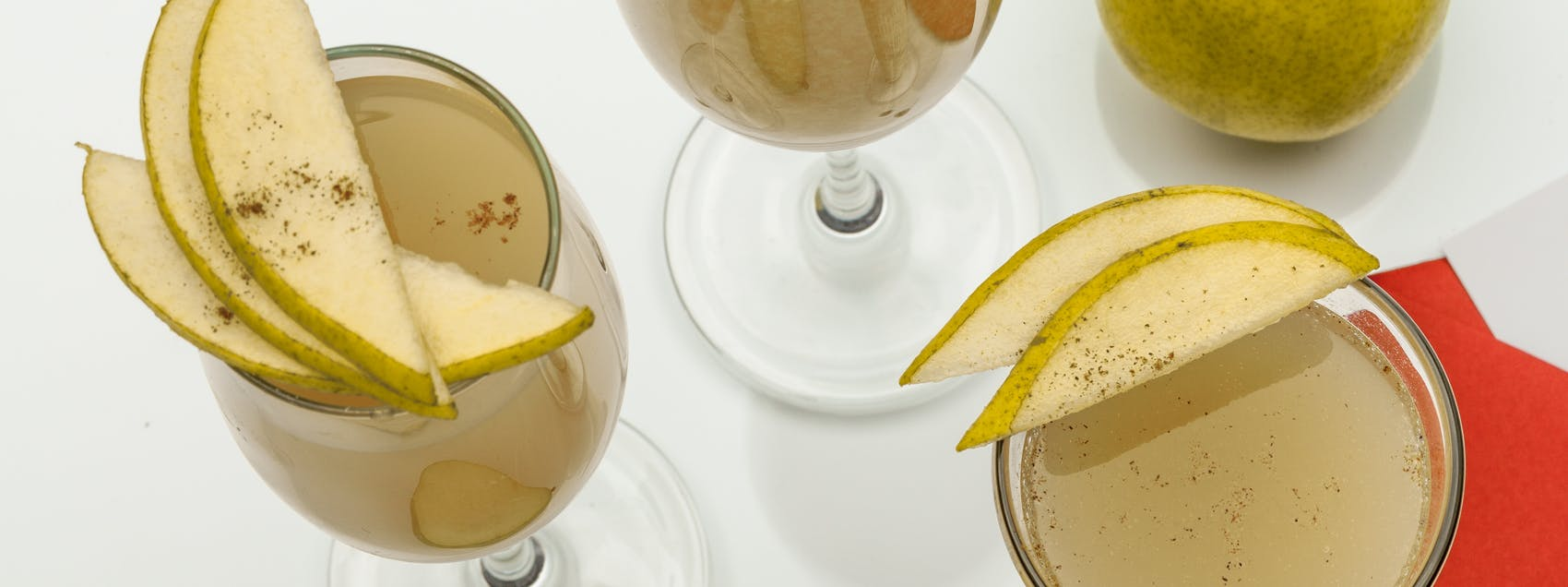 Pear & Ginger Sparkler